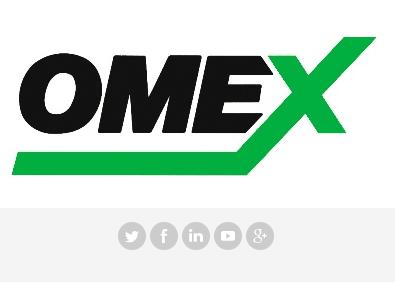 Follow OMEX on social media