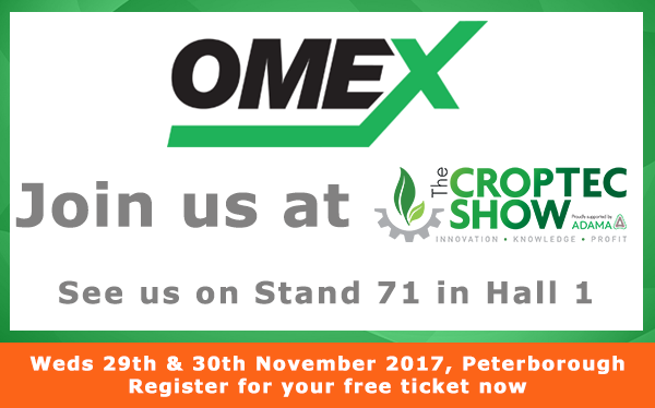 OMEX are coming to CropTec