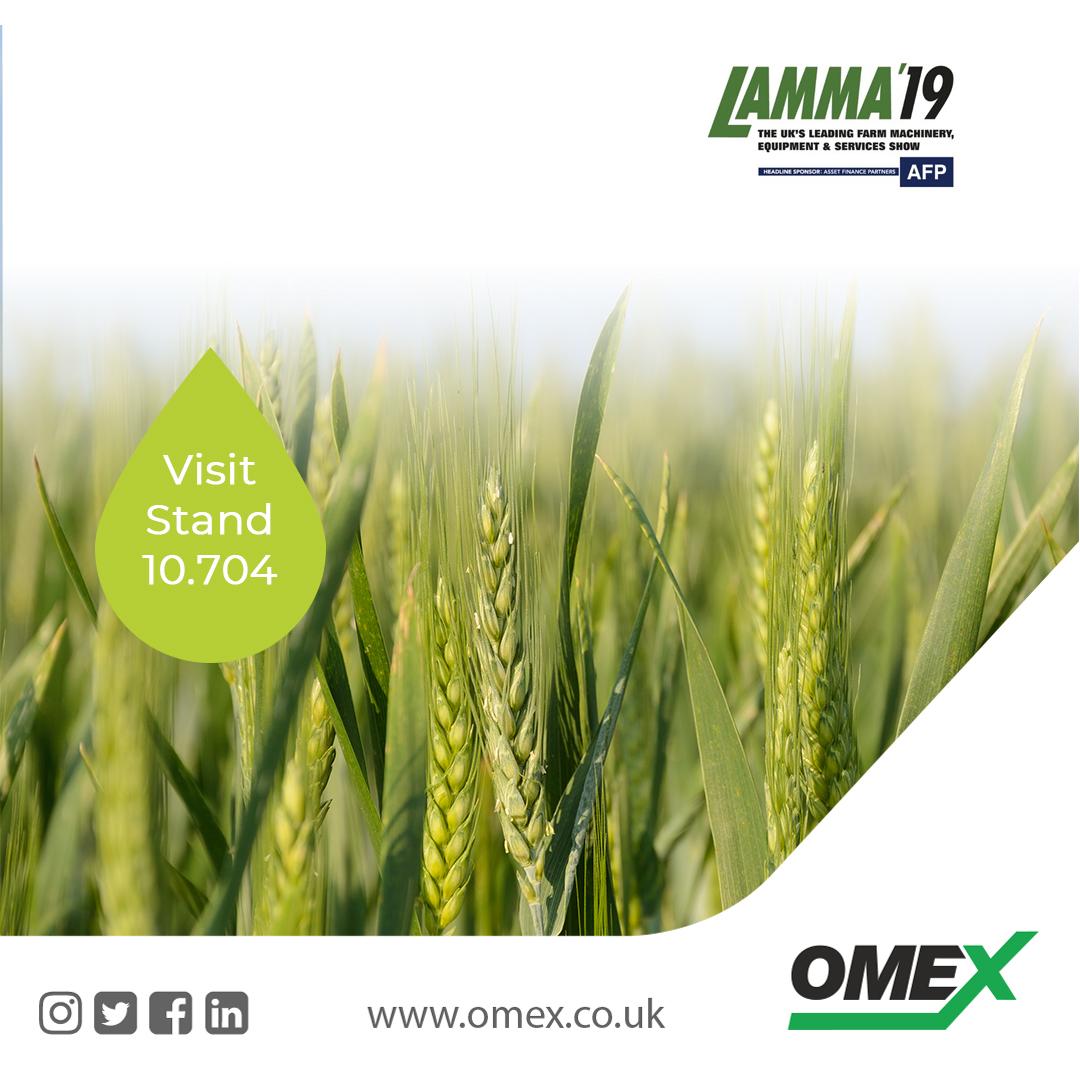 OMEX to exhibit at LAMMA