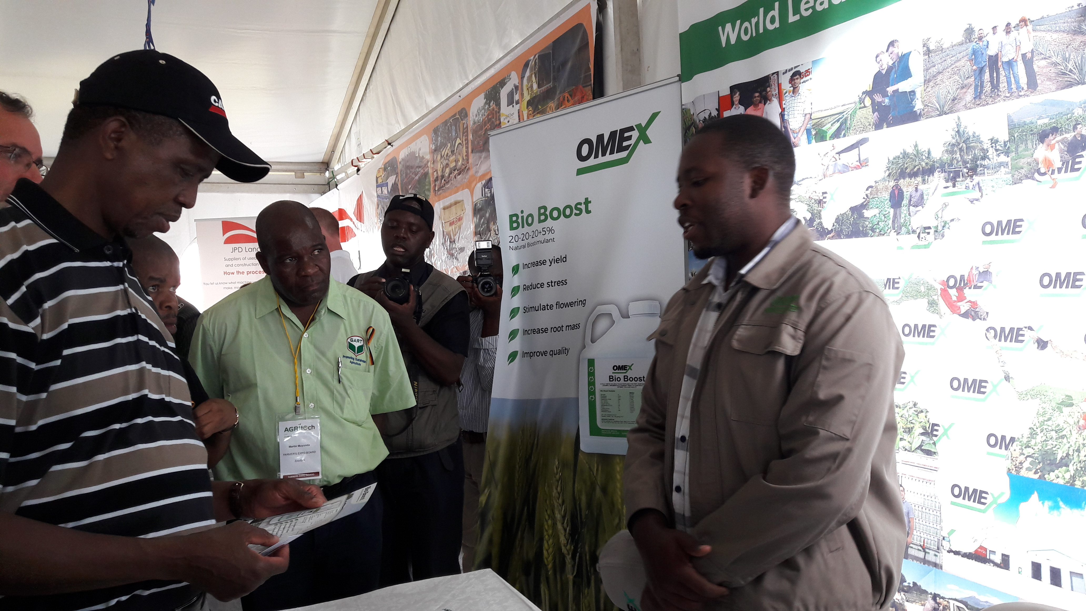 OMEX Meets President of Zambia at Agritech!