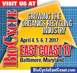 OMEX to attend BioCycle East Coast 17