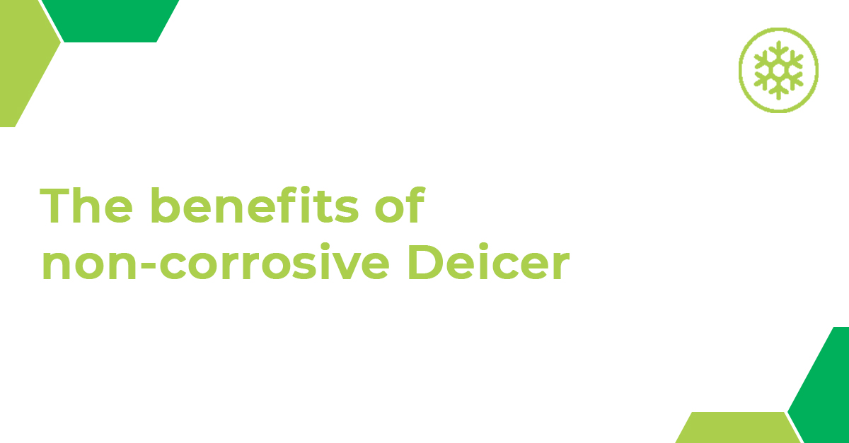 The benefits of non-corrosive Deicer
