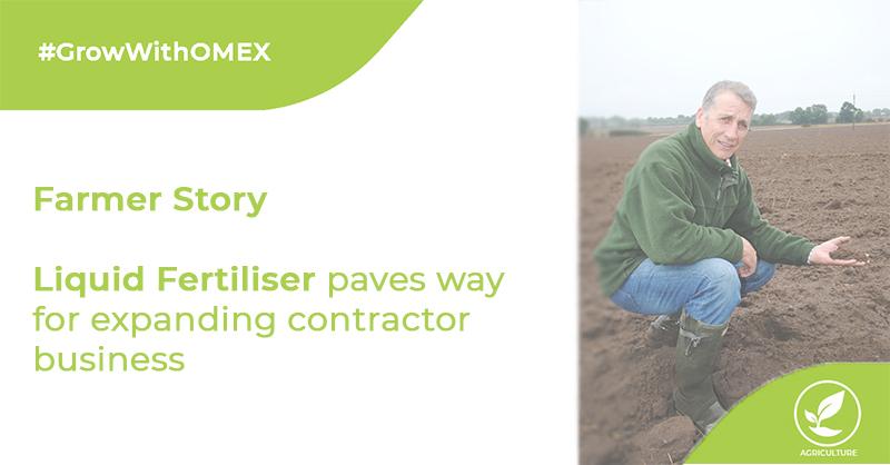 Liquid Fertiliser Paves Way For Expanding Contractor Business