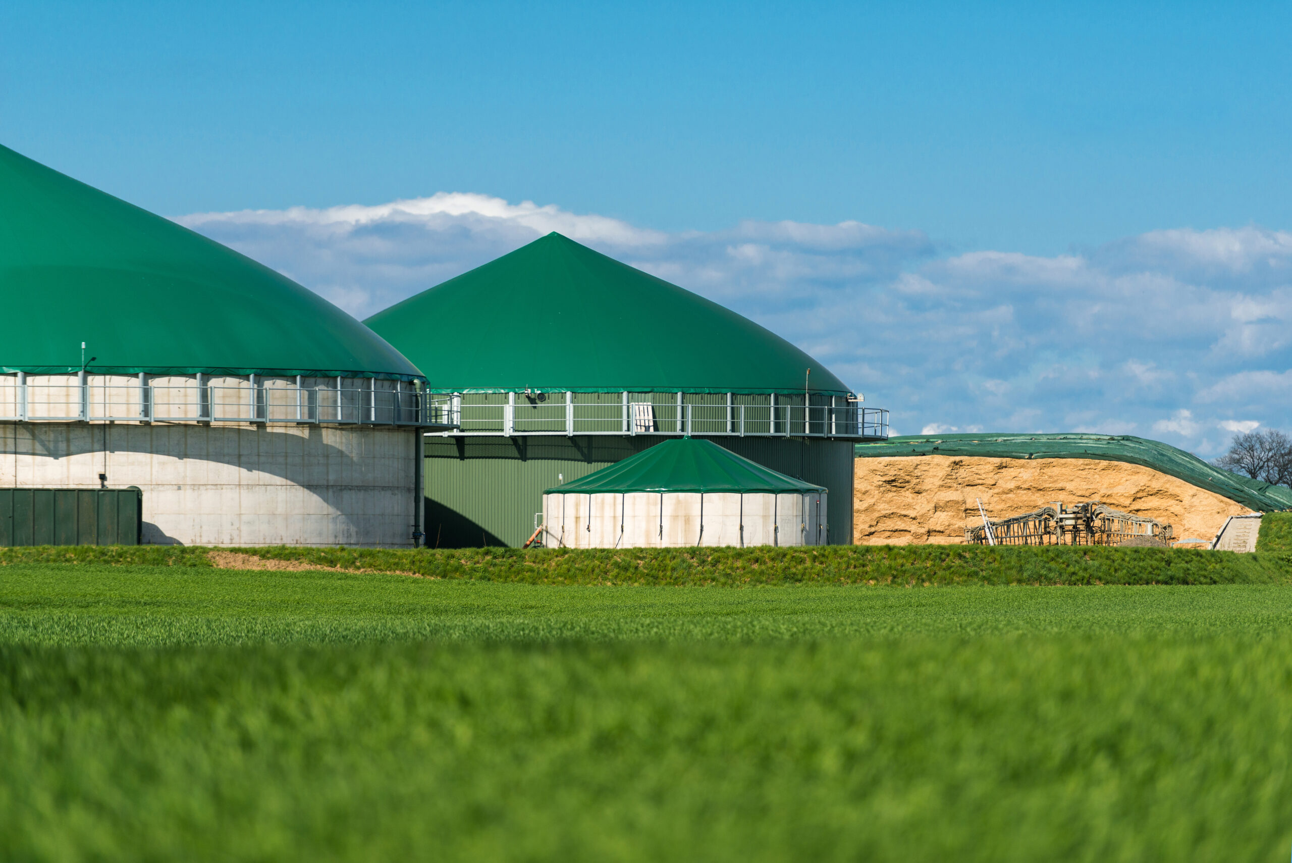 Grass-silage-fed AD Plant – Enhancing economic efficiency with Methaplus L100
