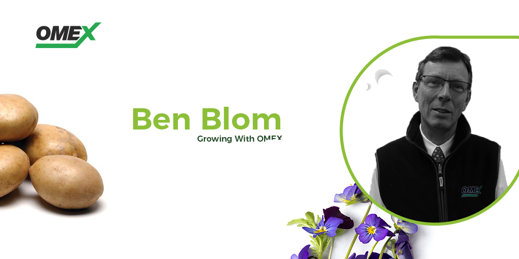 From Petals to Potatoes – Q&A with Ben Blom