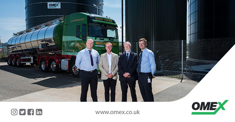 Dundee Haulier working with OMEX to Support Scottish Farming